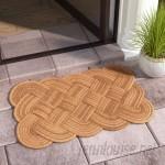Beachcrest Home Psyllatos Knot Ical Doormat BCMH2477