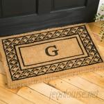 Birch Lane™ Belamy Monogrammed Welcome Doormat BL4240