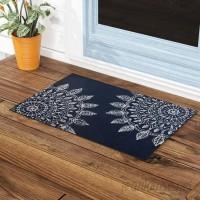 Bungalow Rose Elora Pinwheel Heena Indoor/Outdoor Doormat BGRS2605