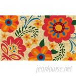 Ebern Designs Maughan PVC Back Printed Doormat FCFS1029