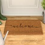 Gracie Oaks Amettes Coir Doormat GRKS1924