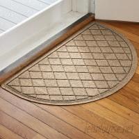 Latitude Run Ainaro Aqua Shield Argyle Doormat LATT3492