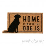 Mud Pie™ Home Is Where the Dog Is Doormat MDPI2397