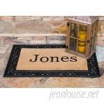 Nance Industries YourOwn Custom Rubber Welcome Doormat NACE1045