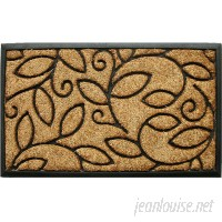 Red Barrel Studio Glenmeadow Vine Leaves Doormat RDBL5091