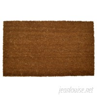 Red Barrel Studio Russiaville Backed Coir Doormat RDBT3439