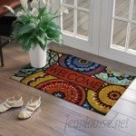 Red Barrel Studio Vanderhide Spanish Suzani Welcome Doorscapes Estate Doormat RDBA1319