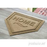 Three Posts Swayzee Home Plate Doormat TRPT5876