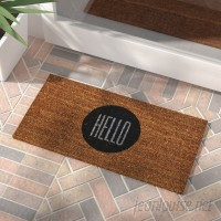 Zipcode Design Altona Hello Doormat ZPCD1839