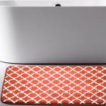 Andover Mills Osmond Flannel Memory Foam Bath Rug ANDV1115