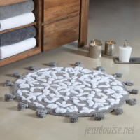 August Grove Radle Round Tufted With Tassels Bath Rug AGRV2894