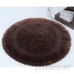Beachcrest Home Natale 100% Soft Cotton Reversible Bath Rug BCMH3859