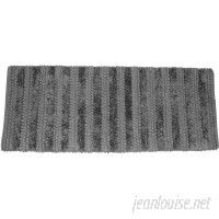 Latitude Run Nery Luxury Stripe Bath Rug LDER3452