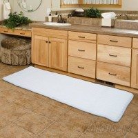 Mercury Row Barrientos Memory Foam Extra Long Bath Mat MCRR4958