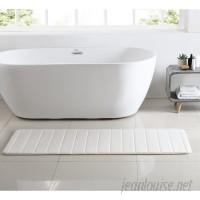 Orren Ellis Anito Channel Stich Memory Foam Bath Rug ORLS2100