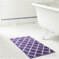 Winston Porter Jeanie Jacquard Microfiber Bath Rug WNPR6343