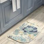 Alcott Hill Thorson Power Flower Printed Slice Kitchen Mat ALCT9260