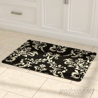 Astoria Grand Justina Damask Kitchen Mat ASTG7389