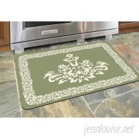 Astoria Grand Justina Falcon Crest Border Kitchen Mat ASTG7390