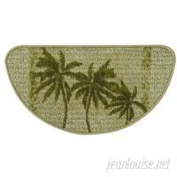 Bacova Guild Classic Berber Paradise Palm Slice Kitchen Mat BCGD1054