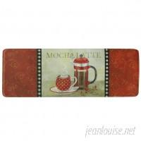 Bacova Guild French Roast Memory Foam Kitchen Mat BCGD1507