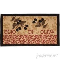 Fleur De Lis Living Birdsview Italian Olive Garden Kitchen Mat FDLL3437