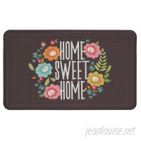 Latitude Run Whitney Floral Kitchen Mat LATR2821