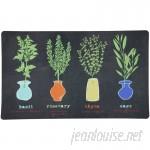 Mohawk Home Little Herb Garden Kitchen Mat MOH3957