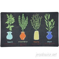 Mohawk Home Little Herb Garden Kitchen Mat MOH3957