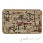Mohawk Home Utensils Kitchen Mat MOH3936