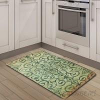 Nicole Miller Cook N Comfort Rustic Medallion Kitchen Mat ELLG1040