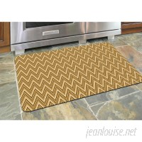 Red Barrel Studio Swofford Chevron Kitchen Mat RDBL3274