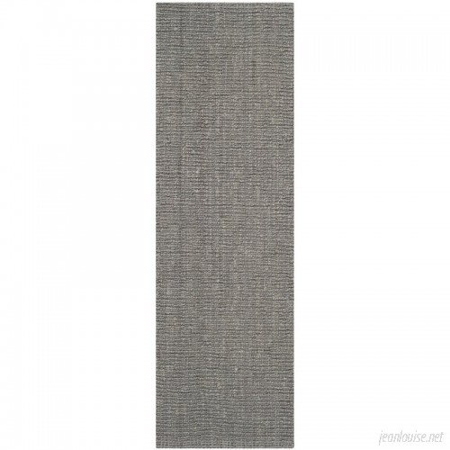 Beachcrest Home Greene Hand-Woven Gray Indoor Area Rug BCHH7820
