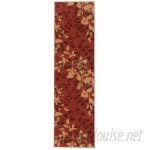 Charlton Home Wellesley Red Area Rug CHLH1026