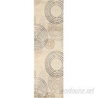 Ebern Designs Densmore Ivory Area Rug EBND7389