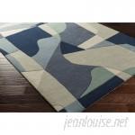 Ebern Designs Dewald Hand-Tufted Blue Area Rug EBND7551