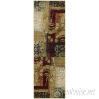 Red Barrel Studio Colena Black/Beige Area Rug RDBT1025