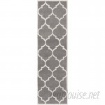 Winston Porter Ayler Charcoal Geometric Area Rug WNSP6442