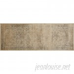 World Menagerie Todd Beige/Brown Area Rug WRMG1773