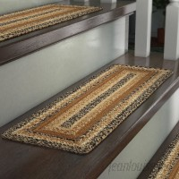 August Grove Millicent Caramel Brown Stair Tread ATGR8705