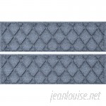 Bungalow Flooring Aqua Shield Bluestone Argyle Stair Tread WDK1635
