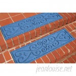 Darby Home Co Michiel Scroll Stair Tread DRBH3794