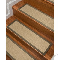 Natural Area Rugs Kinsley Beige Stair Treads NRU1460