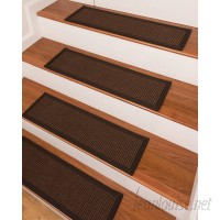 Red Barrel Studio Coatesville Brown Stair Tread RBRS9075