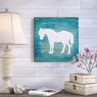 August Grove 'Farm Horse' Print on Wrapped Canvas AGGR5106