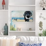 Beachcrest Home 'Macdaddy' Painting Print on Wrapped Canvas BCHH6142
