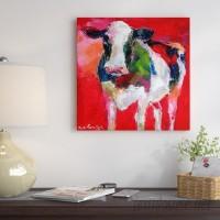 East Urban Home 'Cow' Print ESRB6854