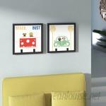 Ivy Bronx 'Beach Bums Bus' 2 Piece Framed Graphic Art Print Set IVBX5890