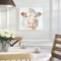 Laurel Foundry Modern Farmhouse Farm Friends II Painting Print on Wrapped Canvas LRFY3686