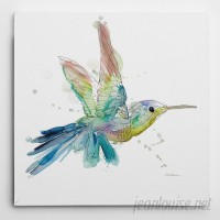 WexfordHome 'Sketchbook Hummingbird' by Carol Robinson Painting Print on Wrapped Canvas WEXF1493